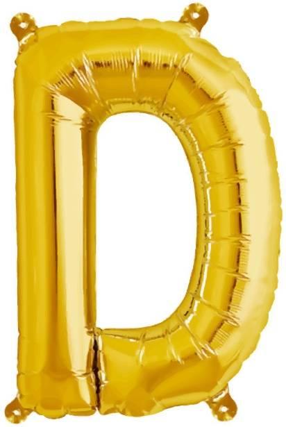 Folien Ballon Buchstabe D