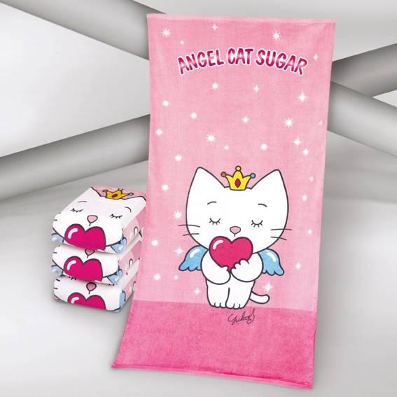 Angel Cat Sugar Strandtuch