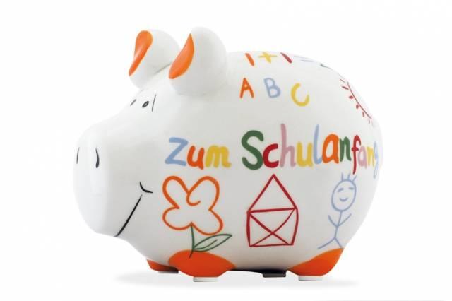 KCG Sparschwein Zum Schulanfang