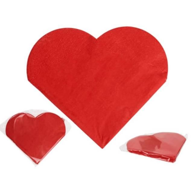 Papier Servietten Herz