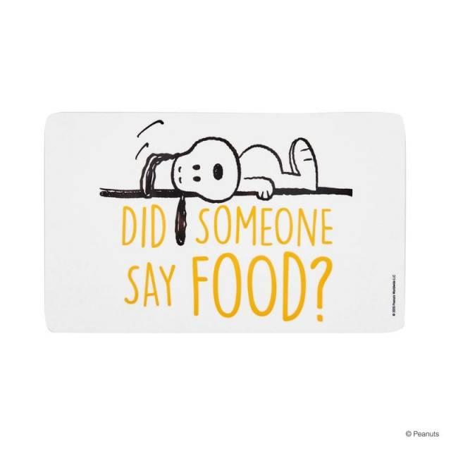 Snoopy Brettchen Food
