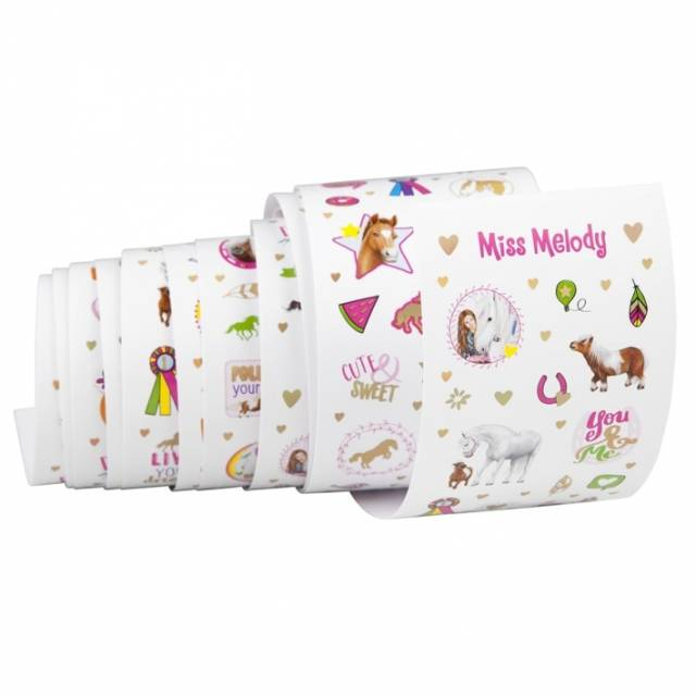 Miss Melody Sticker Rolle