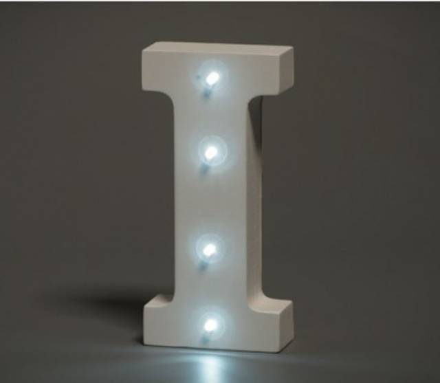 LED Buchstabe Lights Letter I