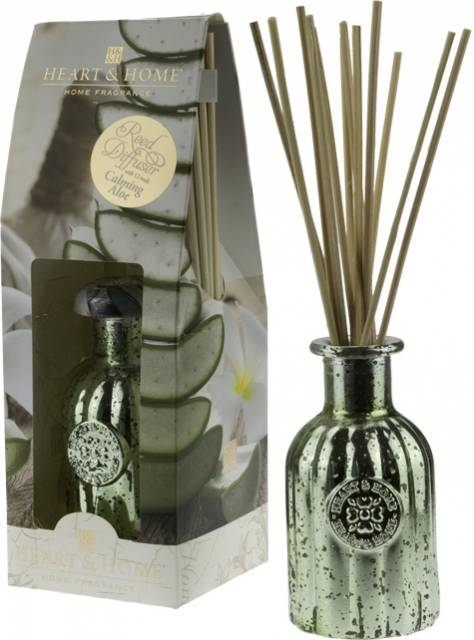 Heart and Home Reed Diffuser Aloe Vera
