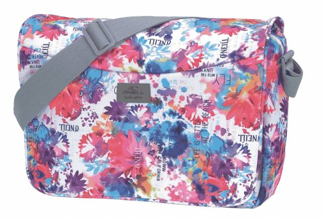 O`Neill Courier Bag Blumen