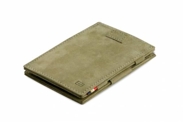Garzini Magic Wallet Carvare Olive Green