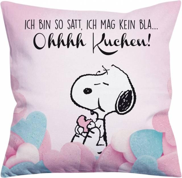 Snoopy Kissen Ohhhh Kuchen