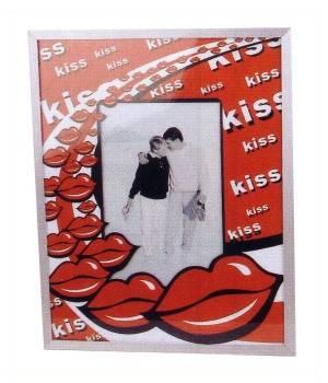 Bilderrahmen Kiss