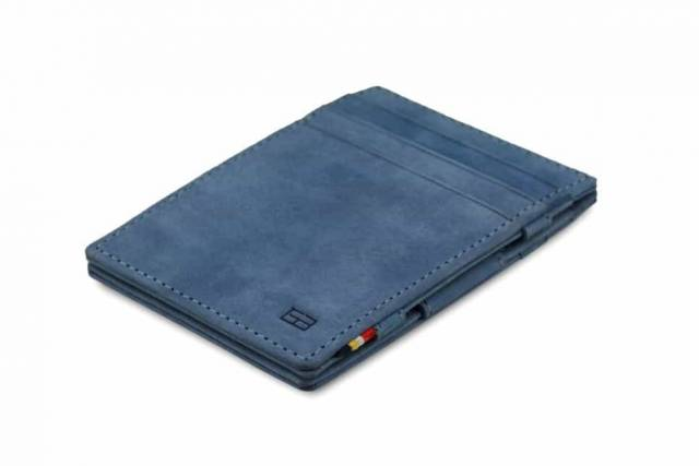 Garzini Magic Wallet Essenziale Sapphire Blue