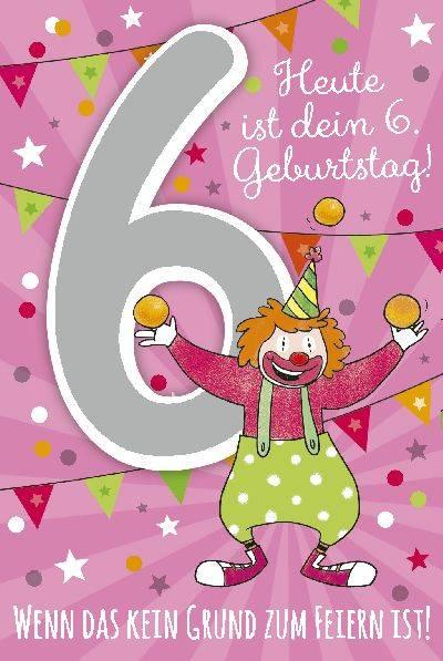 Depesche Geburtstagskarte 6geburtstag Mit Musik Geschenkewunderland