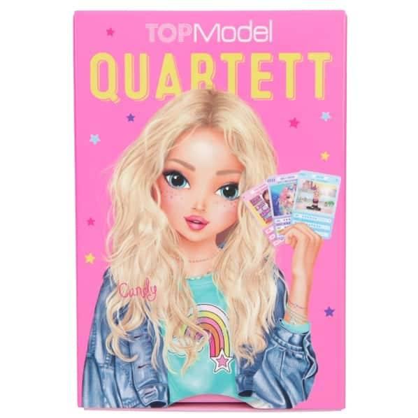 Depesche TopModel Spielkarten Quartett