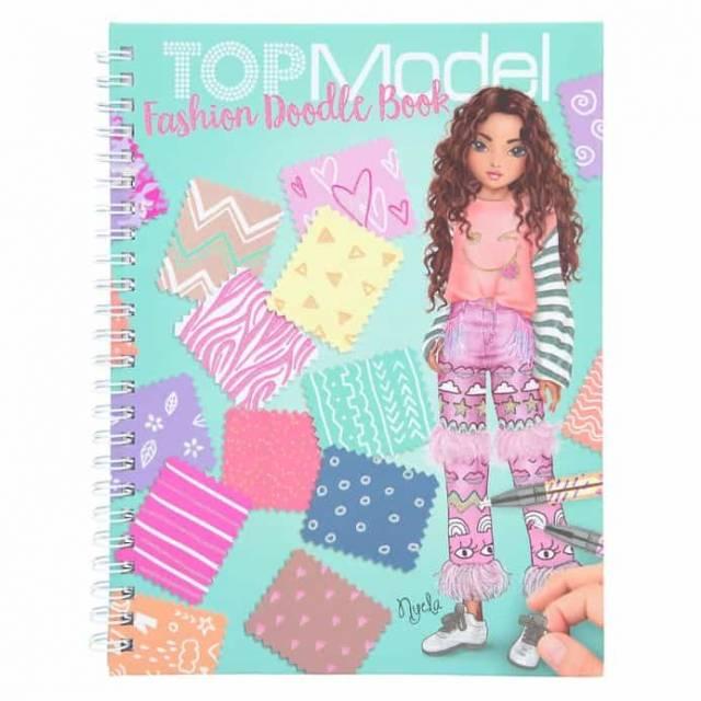 TopModel Fashion Doodle Malbuch