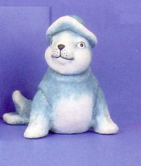 Maritim Figur Seehund