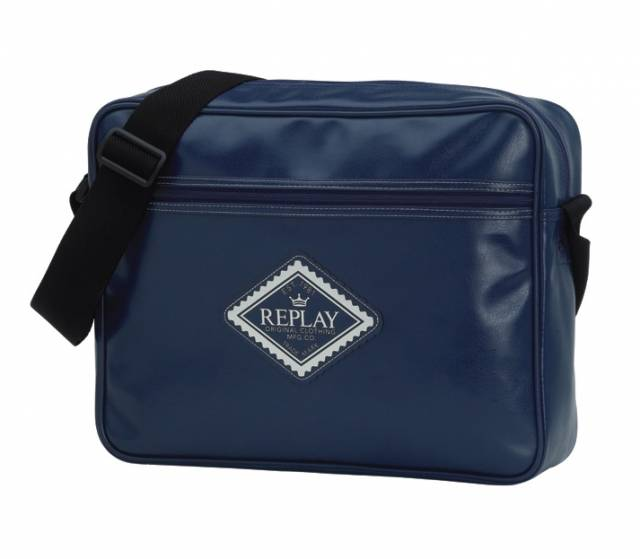 Replay Reporter Bag Blau