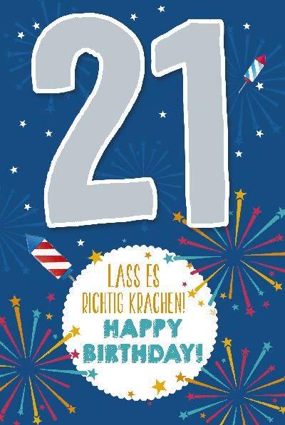 Geburtstag 21