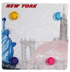 Magnettafel New York