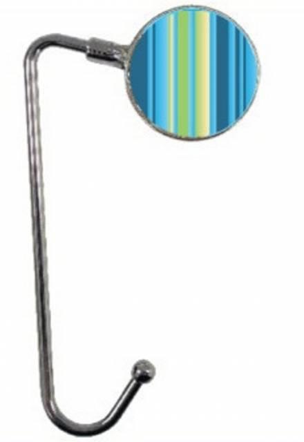 Taschenhalter Blaue Streifen