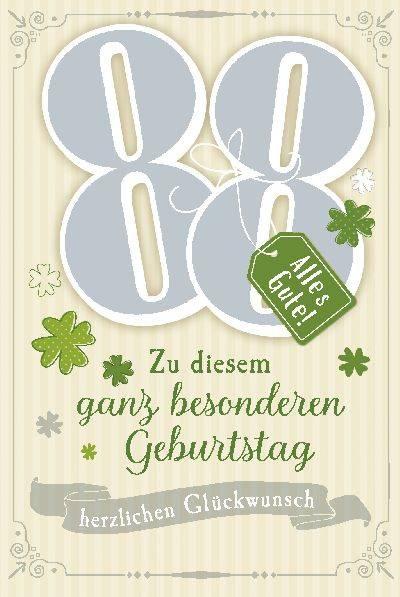 Depesche Geburtstagskarte 88 Geburtstag Mit Musik Geschenkewunderland