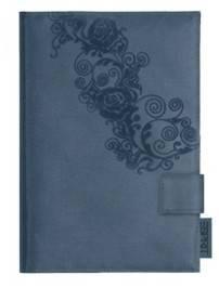 Esprit Notizbuch A6 mit Rosendesign