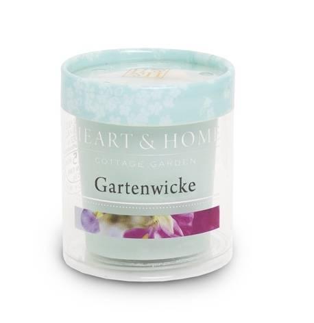 Heart and Home Votivkerze Gartenwicke