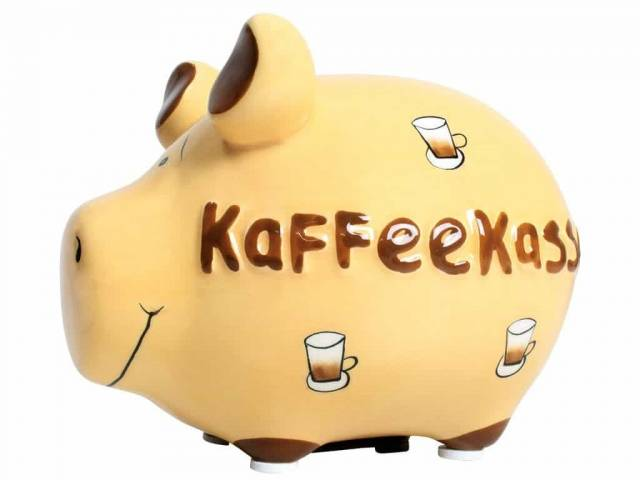 KCG Sparschwein Kaffeekasse