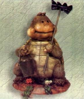 Schildkröte mit Hake