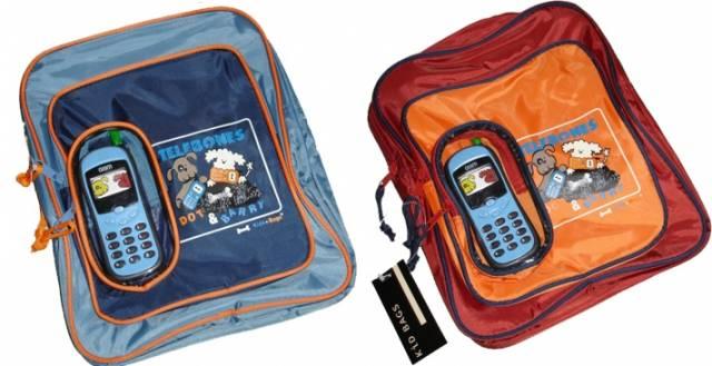 Kinderrucksack mit Spiel-Handy