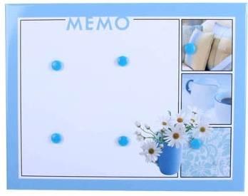 Magnettafel Frühling in Blau