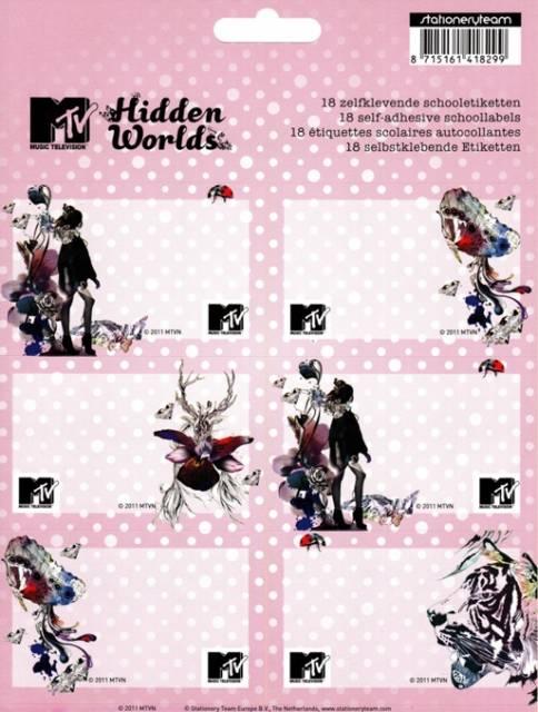 MTV Buchetiketten