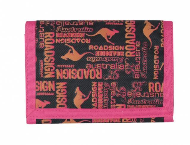 Roadsign Geldbörse Pink / Schwarz