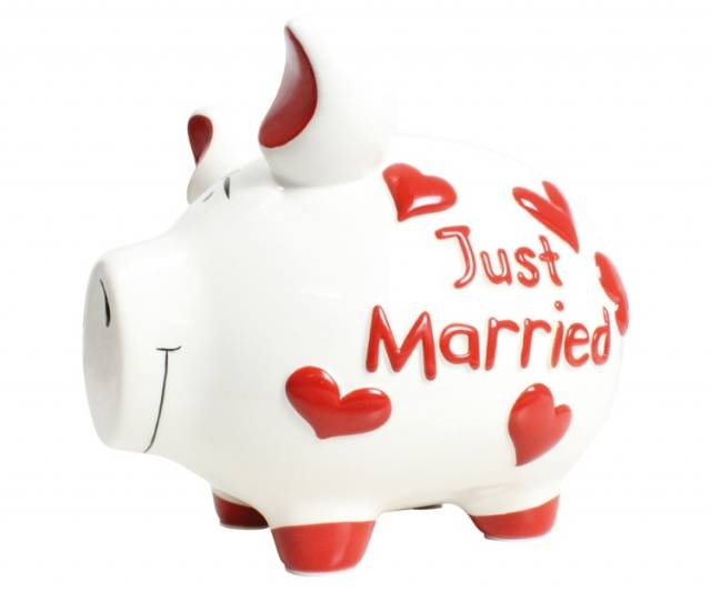 KCG Sparschwein Just Married