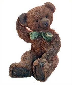 Teddy Figur