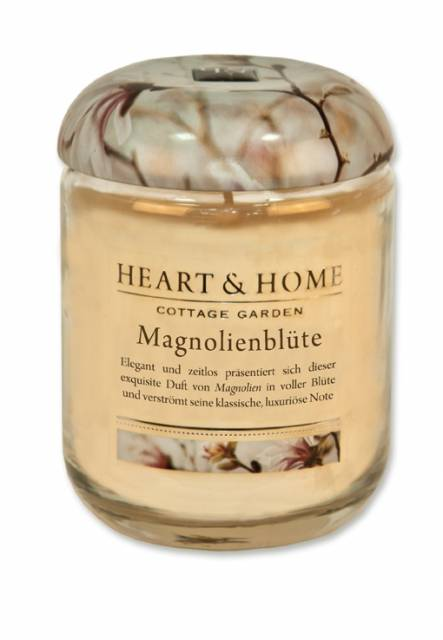 Heart and Home Duftkerze Magnolienblüte