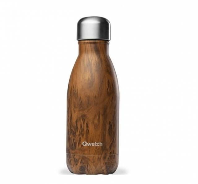 Qwetch Thermoflasche Wood 260ml