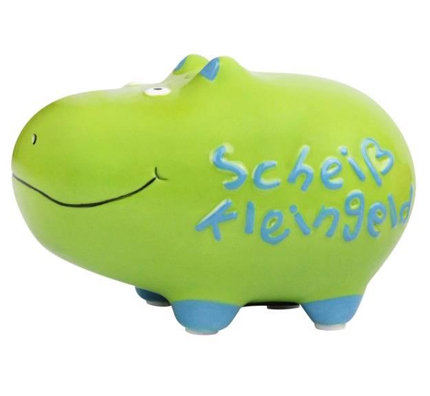 KCG Spardose Hippo Scheiß Kleingeld