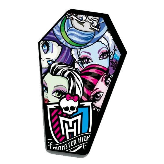 Monster High Kissen Sarg
