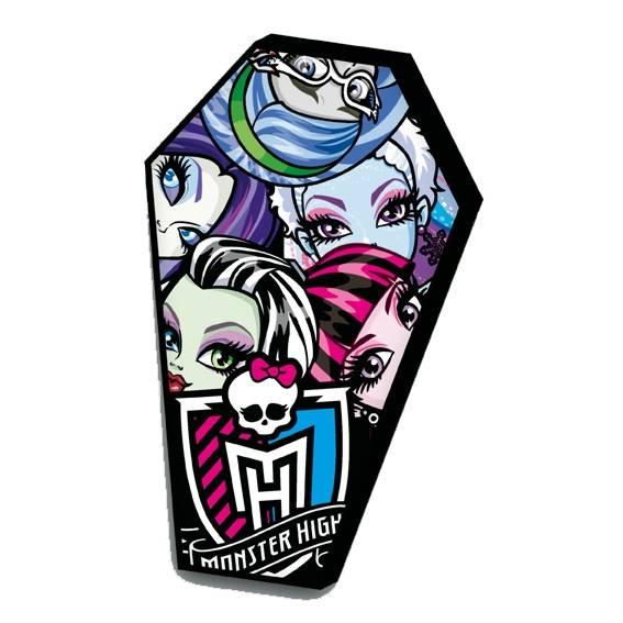 Monster High Kissen Sarg