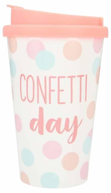 Trinkbecher Confetti Day