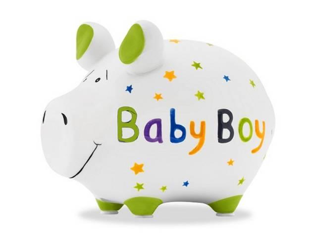 KCG Sparschwein Baby Boy