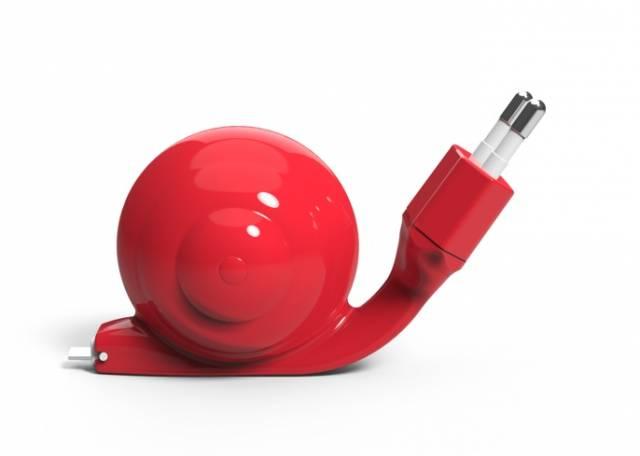 SnaiL Micro USB Ladekabel Schnecke